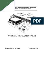 Nursing Fundamentals i