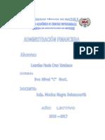 Portafolio Adm Financiera
