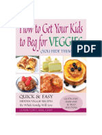 How to Get Your Kids to Beg for Veggies