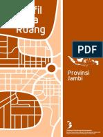Profil Tata Ruang Provinsi Jambi