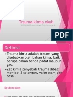 Trauma Kimia Okuli