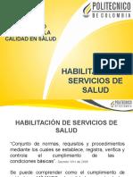 Habilitacion de Servicios de Salud