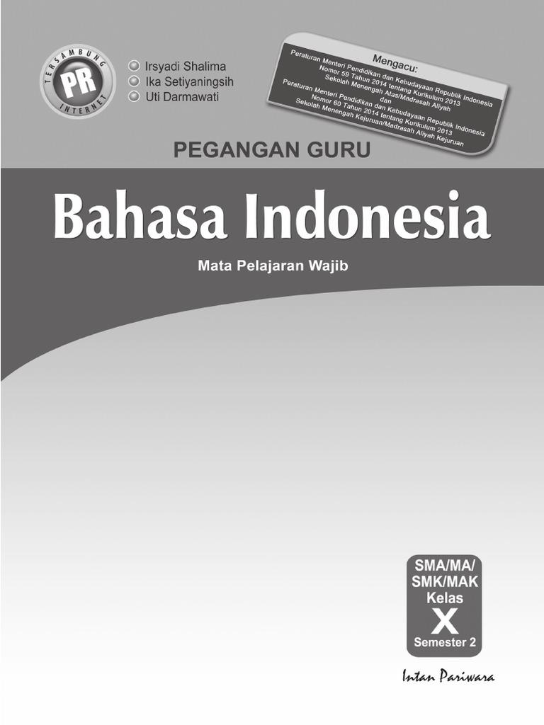 Kunci Jawaban Lks Bahasa Indonesia Kelas 10 Semester 2 Guru Ilmu Sosial