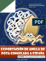 Exportación de Anilla de Pota a España