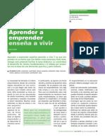 0emprender Enseña a Vivir - María Batet (Aula de Innovación Educativa Núm. 213-214 Julio-Agosto 2012 Pp 45-50)