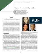 Kazemi One Millisecond Face 2014 CVPR Paper