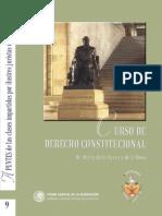 Curso de Derecho Constitucional