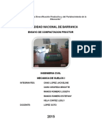 Proctor Modificado Informe