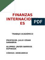 t.a. Finanzas Internacionales