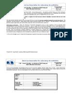 17025 Site Checklist