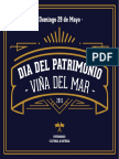 Programa Día Del Patrimonio 2016 Viña Del Mar