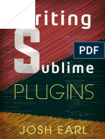 Writing Sublime Plugins Sample
