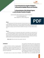 Caracterizacion de Agentes Etiologicos Vibriosis