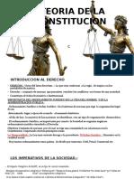 TEORIA DE LOS DERECHOS CONSTITUCIONALES Y ADMINISTRATIVO