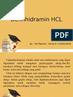Definhidramin HCL