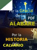 POR LA GRACIA DE TU NOMBRE.pptx