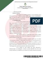 Casanello rechazó la recusación del hijo de Báez