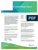 Low Income Transit Pass Edmonton
