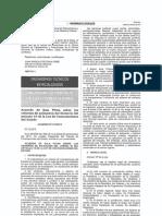 Acuerdo de Sala Plena N° 015-2013