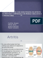 Manejo de Dolor Con Hidroterapia en Artritis Reumatoide (1)