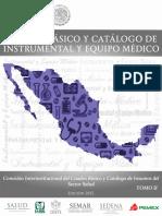 Cuadro Basico y Catalogo de Instrumental Medico Tomo II 2015