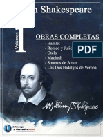 Obras Completas Volumen 1-Libro-William Shakespeare