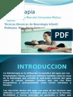 Presentacion Hidroterapia 2013 k