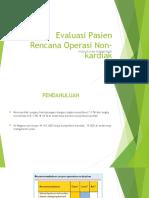 Evaluasi Pasien Rencana Operasi Non-kardiak