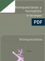 Bronquiectasias y Hemoptisis