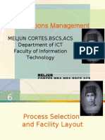 MELJUN CORTES -Operations Management  6th Lecture (PROCESS SELECTION)
