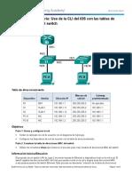 5.3.1.10 Lab - Using IOS CLI With Switch MAC Address Tables