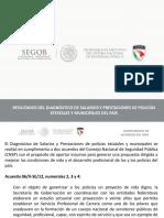 Resultados Diagnostico Sueldos Prestaciones Policiales SESNSP