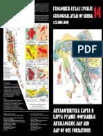 Metalogenetska Karta Srbije