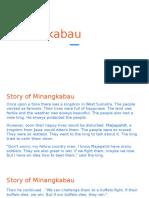 Malaysian History - Minangkabau