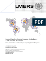 Supply Chain Localization Strategies for the Future