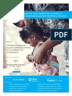 Cambios en La Familia y en El Bienestar de Los Niños