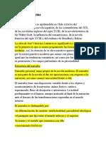 Resumen Goic - Don Guillermo