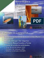 EdgeTech Marine Sonars for AUVs Spanish