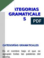 CATEGORIA GRAMATICALES (1)