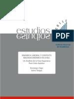 Dinamica Laboral y Contexto Macroeconomico en Chile