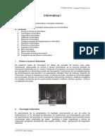 Informatica I - Conceptos Generales