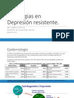 Estrategias en Depresión Resistente