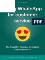Using Whatsapp for Customer Service