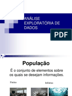 Aulas estatística descritiva - Unesp