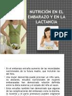 Nutrición en El Embarazo y en La Lactancia