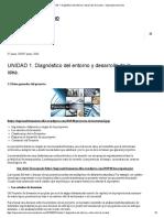 UNIDAD 1. Diagnóstico Del Entorno y Desarrollo de La IdeaDiagnostico del entorno y desarrollo de la idea