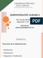 Administracion Agraria I