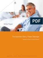 White Paper the Business-Savvy Project Manager 12