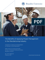 BRU MSMPP WP Feb2012 Manufacturing Industry