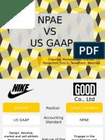 Npae vs Gaap
